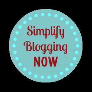 Simplify Blogging Now