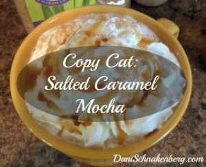 CopyCat Salted Caramel Mocha | DaniSchnakenberg.com