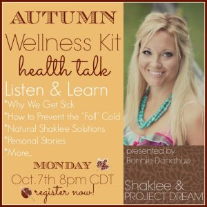 Health Talk: Autumn Wellness Kit