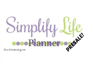Simplify Life Planner Presale