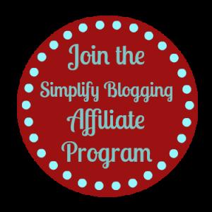 Simplify Blogging Affiliate Program