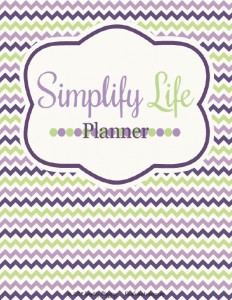 Simplify Life Planner Cover The Erin