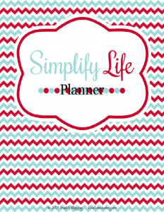 Simplify Life Planner Title Page - The Kaila