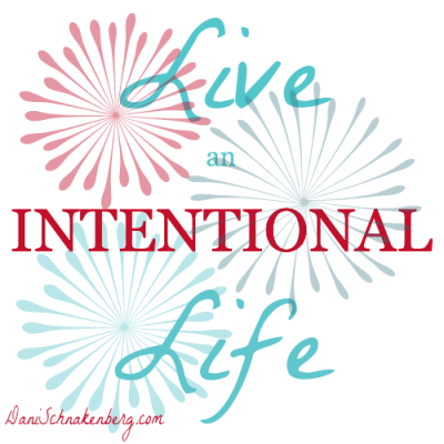 Creating an Intentional Life – Step 1