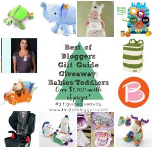 Best of Bloggers Gift Guide Giveaway: Babies & Toddlers