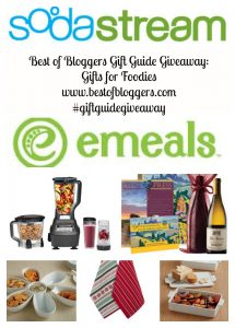 Best of Blogger Gift Guide Giveaway: Foodies