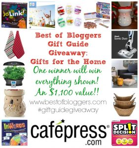 Best of Bloggers Gift Guide Giveaway : Gifts for the Home