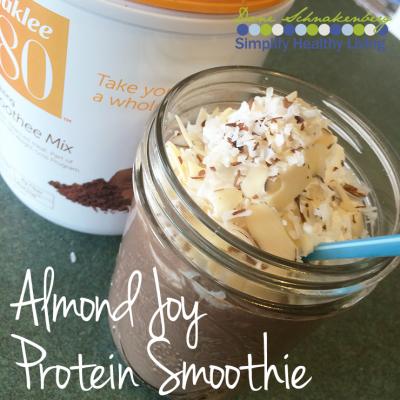 Almond Joy Protein Smoothie