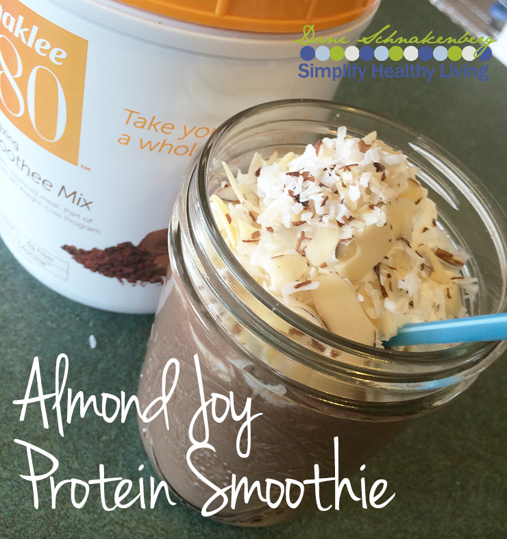 Almond Joy Protein Smoothie