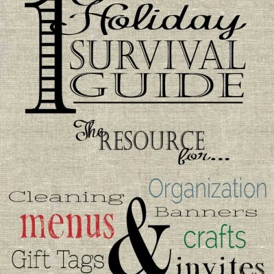 Holiday Survival Guide 2014 – Fall Recipes