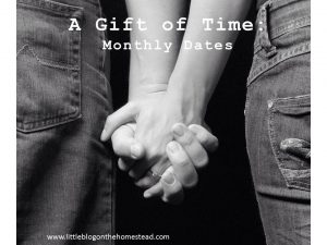 The Gift of Time - Monthly Dates