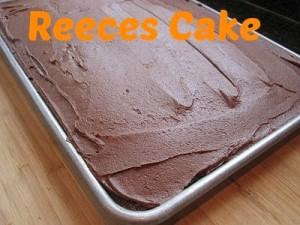 Reeces Cake