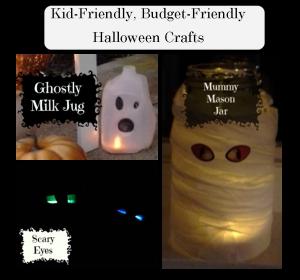 Kid-Friendly, Budget-Friendly Halloween Crafts