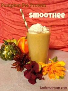 Pumpkin Pie Protein Smoothee