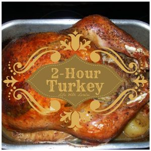 2 Hour Turkey Recipe