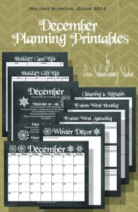December Printables Pin