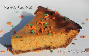 Healthier Pumpkin Pie