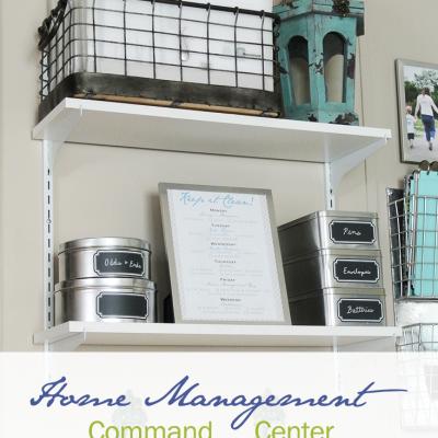 Home Management Command Center
