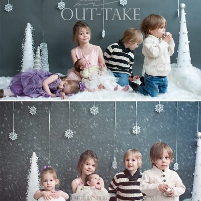 The Epic Christmas Card Photo and The Truth About Having 5 kids in 7 Years