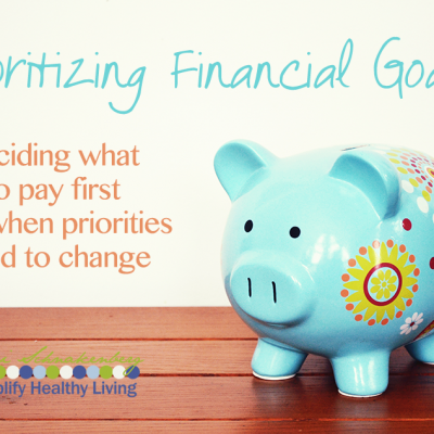 Simplify Money: Prioritizing Financial Goals