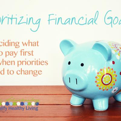 Simplify Money: Prioritizing Financial Goals