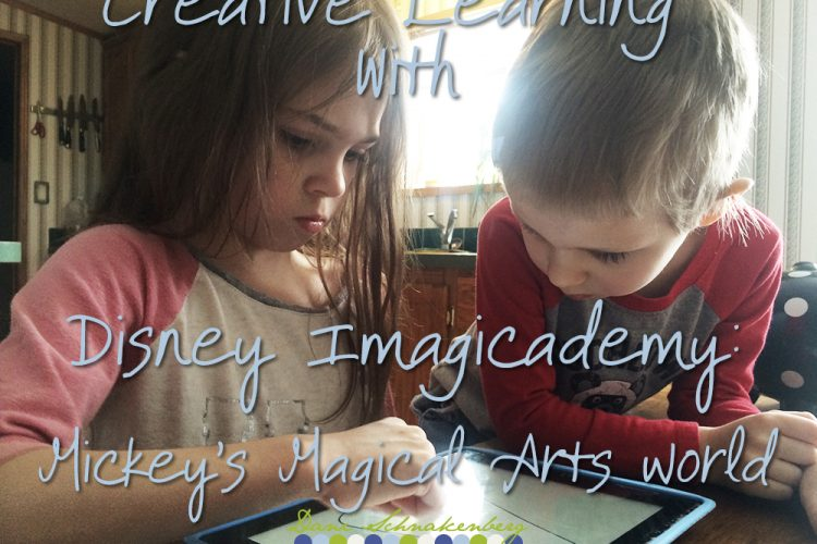 Creative Learning with Disney Imagicademy