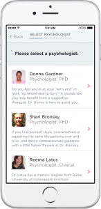 iphone psychology select
