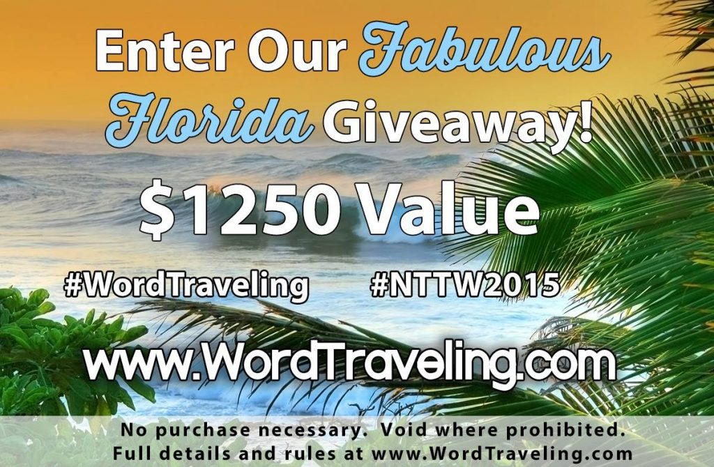 Word Traveling Giveaway