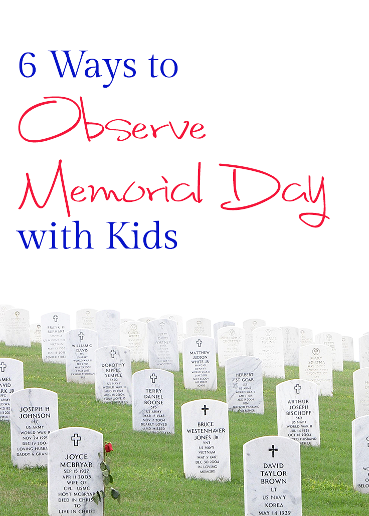 6 Ways to Observe Memorial Day Pinterest