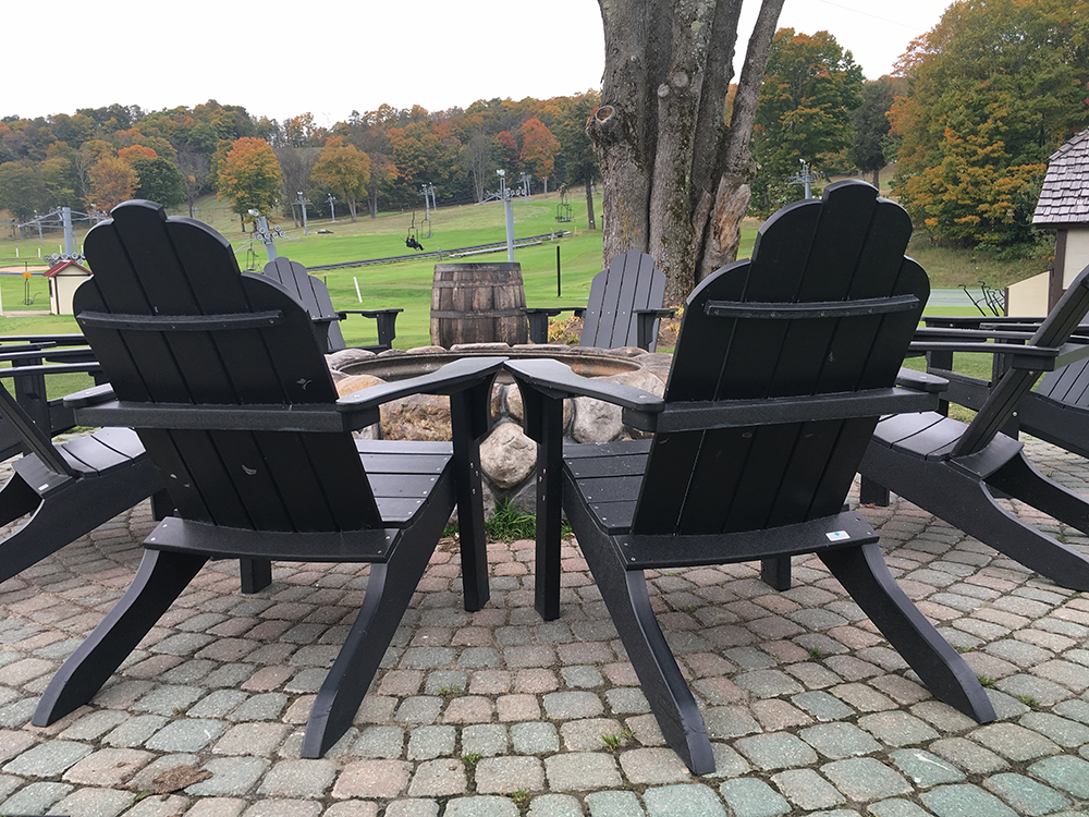 Fire Pit at Boyne Highlands Resort | Petoskey Area, Michigan