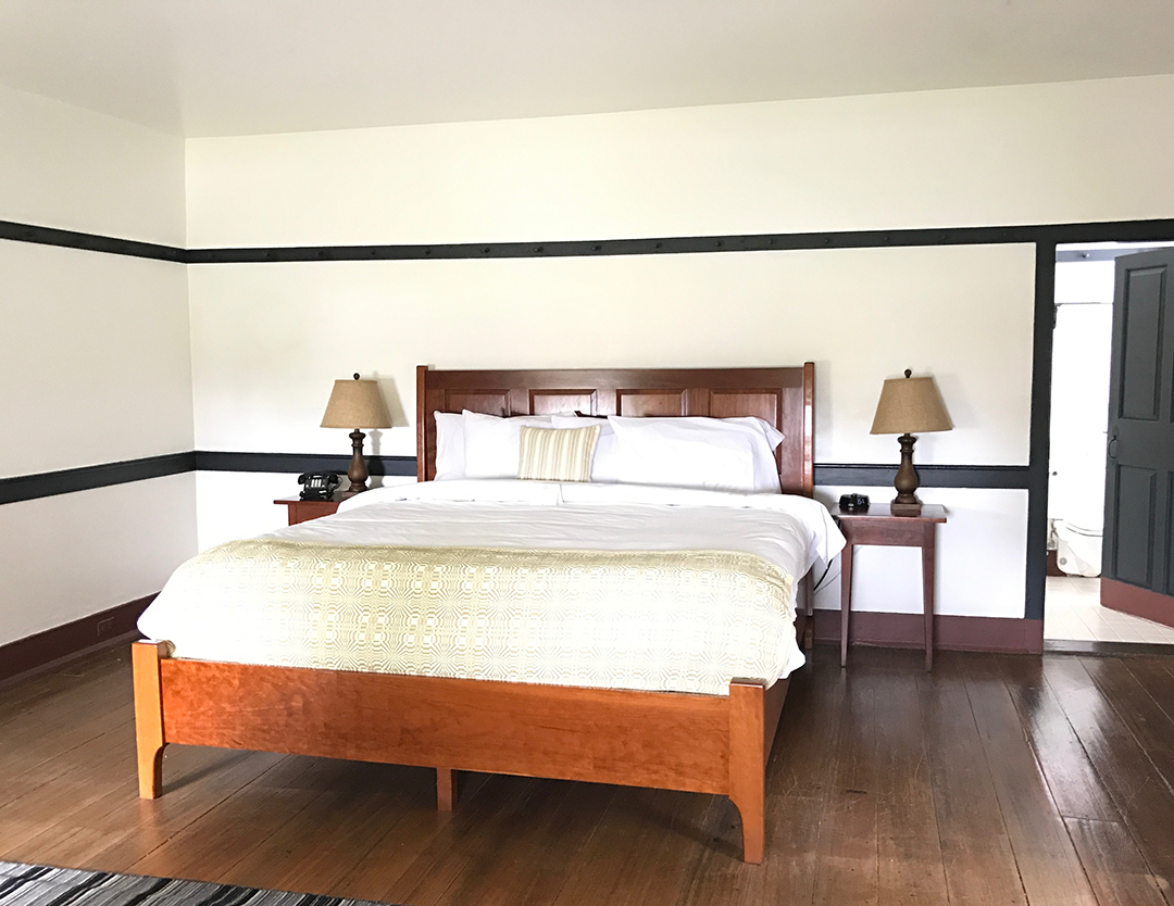 Shaker Village Kentucky - King Lodging Room | Big Family Minimalist