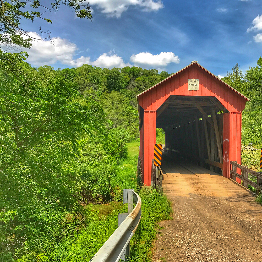 Hune Covered Bridge in Wayne National Forest | Marietta, Ohio