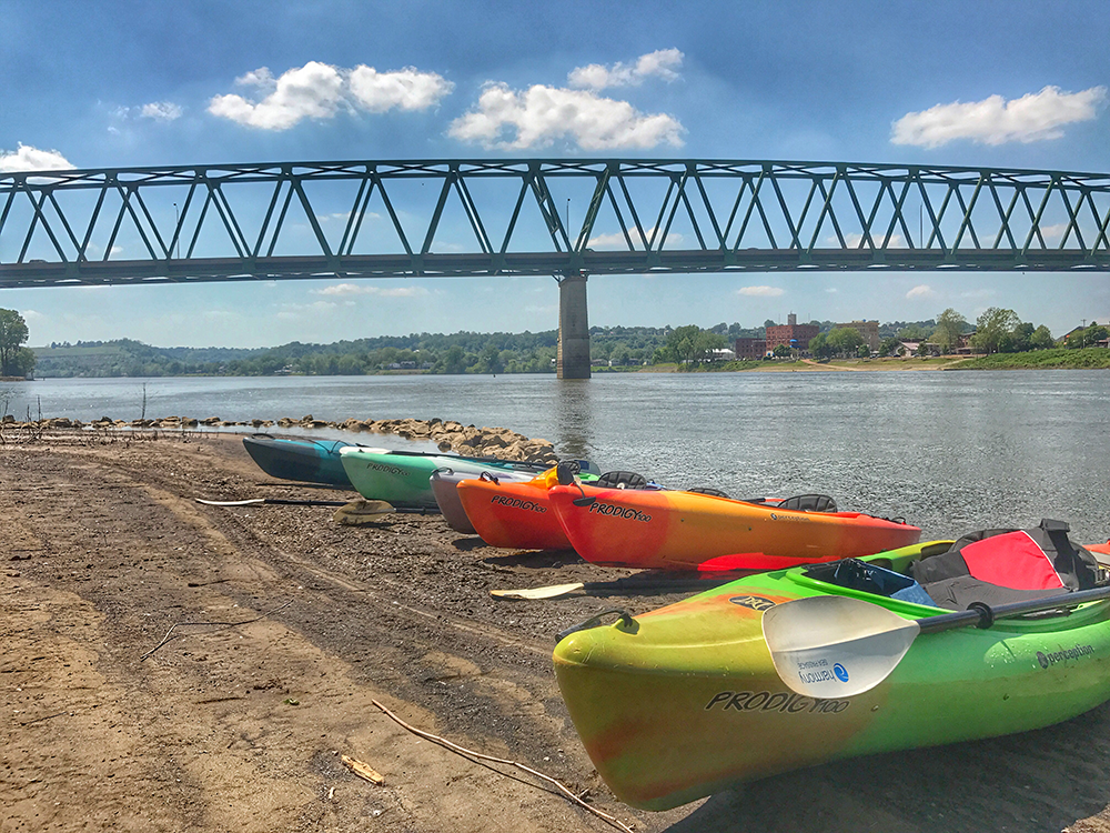 Kayaking with Marietta Adventure Company | Marietta, Ohio