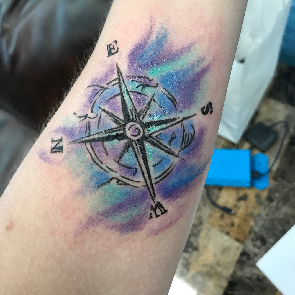 My new ink! |  The Painted Sparrow Tattoo Studio & Art Gallery