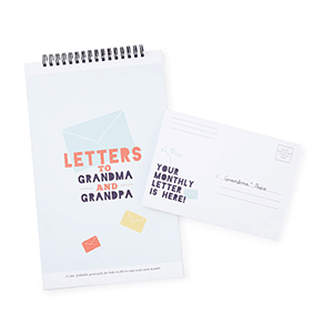 Letters to Grandma and Grandpa | Gift Idea from Uncommon Goods | Big Family Minimalist