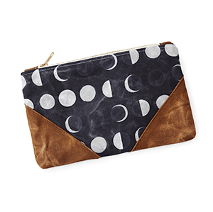 Moon Phase Pouch | Gift Idea from Uncommon Goods | Big Family Minimalist