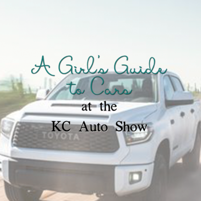 A Girl's Guide to Cars at the KC Auto Show | BigFamilyMinimalist.com